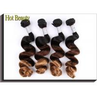 Wholesale Ombre 3 Tone Natural Wave Peruvian Human Hair Full And Thick Ends For Beauty from china suppliers