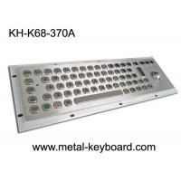 Wholesale IP65 Explosion Proof Keyboard , industrial keyboard with trackball from china suppliers