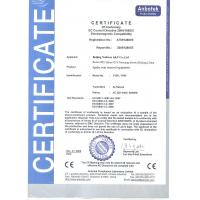 Cryolipolysis equipment supplpier / manufacturer Certifications