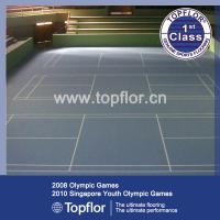 Quality Anti-slip waterproof Indoor PVC Sports Flooring for Badminton court for sale