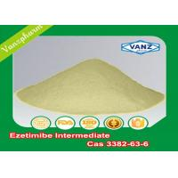 Wholesale 3382-63-6 Pharmaceutical Intermediates Ezetimibe Intermediate Cholesterol Absorption Inhibitor from china suppliers