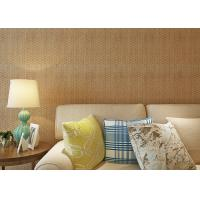Wholesale Strippable Washable 3D Bamboo Weaving Wall Covering PVC Wallpaper from china suppliers