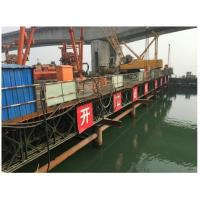 Wholesale 321 Type Bailey Suspension Bridge , Painted Folating Pontoon Military Portable Bridge from china suppliers