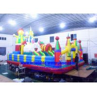 Wholesale Heavy Duty Inflatable Theme Park Durable Safety Customized Logo / Banner from china suppliers