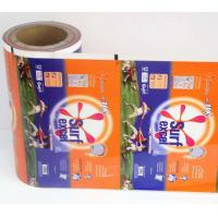 Wholesale Printed Detergent Powder Plastic Roll Film for small Sachets , Laundry sachets packaging in Roll film from china suppliers