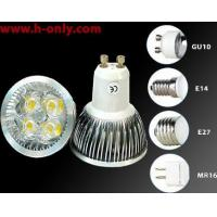 Wholesale 4X1W high power led GU10/E27/MR16/E14 LED spot light from china suppliers