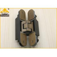 Wholesale Silver Black Champagne Invisible Door Hinges Load 80 Kg Length 160mm Hinge from china suppliers