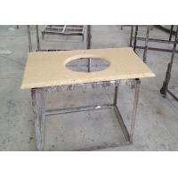 Wholesale Sunny Gold Marble Sink Top , Kitchen Wash Basin Marble Vanity Countertops from china suppliers