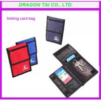 Wholesale Three folding design card bags, folding card bag, card holder from china suppliers