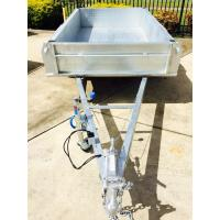 Wholesale Fully Hot Dipped Galvanised Single Axle Trailer With Brake or Without Brake from china suppliers