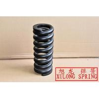 black painted customized hot wound helical springs made of 22mm wire alloy steel
