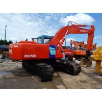 Wholesale Good condition used  Hitachi cheap price ex200  cralwer excavator for sale from china suppliers