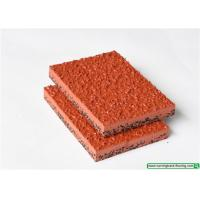 Wholesale Full PU Mixed Recycled Running Track Flooring / Rubber Playground Mats from china suppliers