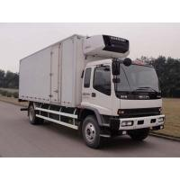 Wholesale China good price ISUZU 4*2 LHD cold room truck for sale, factory sale best price Japan ISUZU 10tons refrigerated truck from china suppliers