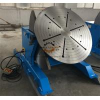 Wholesale 2 Ton Tilting Welding Table , Vessel Head Welding Positioner Turntable from china suppliers