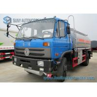Wholesale 170HP 4x2 Transport Oil Chemical Tanker Truck Dong Feng Vehicles from china suppliers