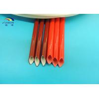 Wholesale Insulators Braided Fiberglass Electrical Cable Sleeving Insulating Material Red or Custom from china suppliers