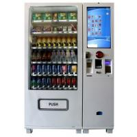 Wholesale Automatic Cigerate / Snack / Cold Beverage Vending Machine With Induction LCD from china suppliers