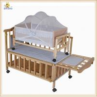 Wholesale Modern Baby Wood Furniture Cribs Small Swing / Convertible Baby Cribs from china suppliers