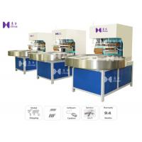 Wholesale LED Light 27.12MHZ Blister Packaging Machine Automatic Turntable 4 Work Stations from china suppliers