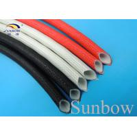 Wholesale Welding Machine Protection Silicone Rubber Coated Fiberglass Sleeving from china suppliers