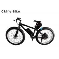 Wholesale 125KG Loading Electric Fat Tire Sand Bike Wide Tire Bicycles 80km Riding Distance from china suppliers