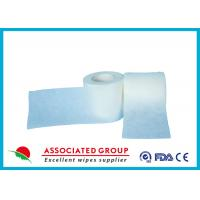 Wholesale Polyester / Viscose / PP Spunlace Non Woven Roll Fabric Cross Lapping 30~120GSM from china suppliers