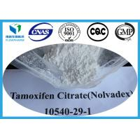 Wholesale Tamoxifen Citrate Nolvadex Powder Anti Estrogen Steroids For Breast Cancer , CAS 54965-24-1 from china suppliers