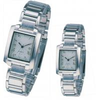 Wholesale Souvenir for Couple Lover Quartz Analog Metal Wrist Watch Water Resistant from china suppliers