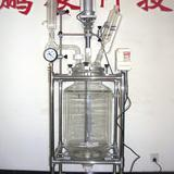 30L double layers glass reactor