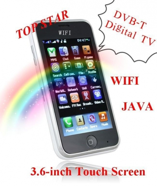 ... TV mobile phone For European countries WIFI JAVA cellphone for sale