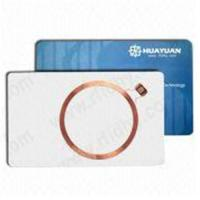 Wholesale RFID Card with EM4100/EM4102 Wafer Die IC and Matte/Gloss Card Surface from china suppliers