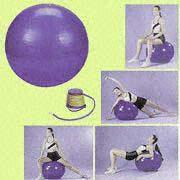Wholesale PVC Gymnastic Balls Available in 45, 55, 65, 75 and 85cm from china suppliers