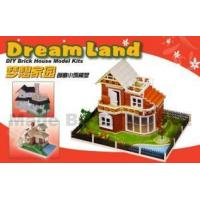 Wholesale DIY Layout Brick House Model Kits from china suppliers