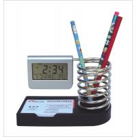 Wholesale spring pen holder clock from china suppliers
