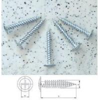 Buy cheap Modified Truss Head Screws Sharp Point Zinc Plated from wholesalers