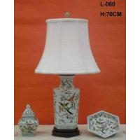 Wholesale BIRD FLOWER PORCELAIN LAMP Item#: LPXH-060 from china suppliers