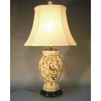 Wholesale BIRD FLOWER PORCELAIN LAMP Item#: LPXH-061 from china suppliers
