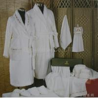 Wholesale 100% Cotton toweling bathrobe from china suppliers