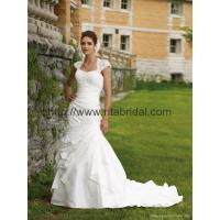 Wholesale wholesale and retail 2011 luxury long train wedding dress N-01 from china suppliers
