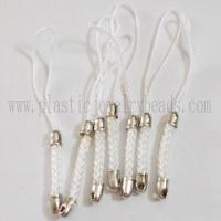 Wholesale wholesale white color charm mobile straps online--SCS001 from china suppliers
