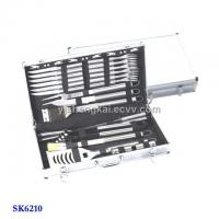 30pcs BBQ Set in Stainless Steel Handle