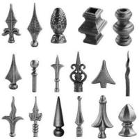 Wholesale sell decorative wrought iron parts from china suppliers