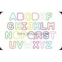 Wholesale silicone rubber band-Alphabet from china suppliers