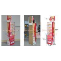 Buy cheap FDS-025 Four Shelf POS Paper Floor Display for Drug/Medicine from wholesalers