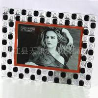 Wholesale Crystal Frame crystal picture frame crystal frame from china suppliers