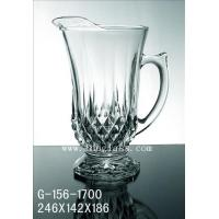 Wholesale Glass pitcher G-156-1700 G-156-1700 from china suppliers