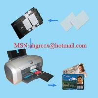 Wholesale CBB65 blank white pvc card from china suppliers