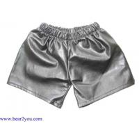 Wholesale Denim Pants/Skirts/Shorts 7019-Leather Short 7019-Leather Short from china suppliers