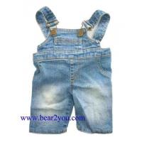 Wholesale Denim Pants/Skirts/Shorts 7015-Denim Overalls 7015-Denim Overalls from china suppliers